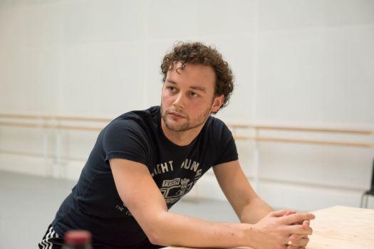 The Age of Anxiety_REHEARSAL;The Royal Ballet, FONTEYN STUDIO 12_1pm Morera,McRae,Gartside,Dyer